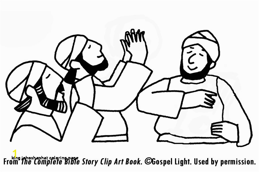 King Jehoshaphat Coloring Page King Jehoshaphat Coloring Page Democraciaejustica