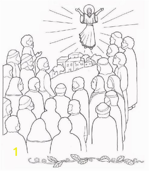 Jesus ascension Coloring Page Luxury Jesus ascension Coloring Pages Cartoon Od Jesus Disciples Coloring Jesus