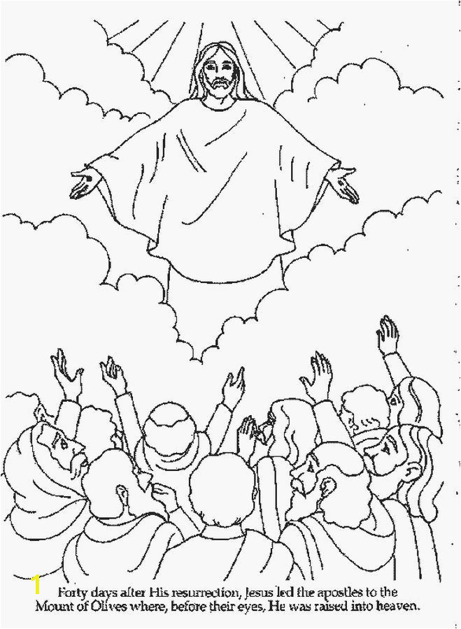 Jesus ascension Coloring Page Awesome Jesus Christ Coloring Pages 7 S Line Coloring Jesus ascension