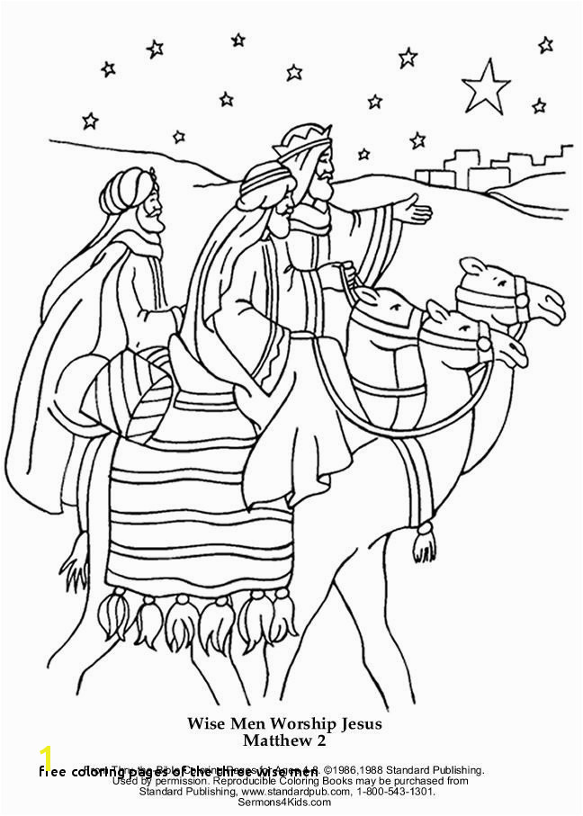 Free Coloring Pages the Three Wise Men Jesus Born Printable Coloring Pages Beautiful 283 Best Winter