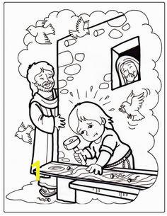 Jesus Boyhood Coloring Pages 75 Best Coloring Bible Nt Gospels Images