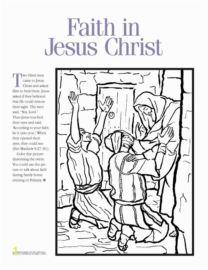 """""""Faith in Jesus Christ"""""""