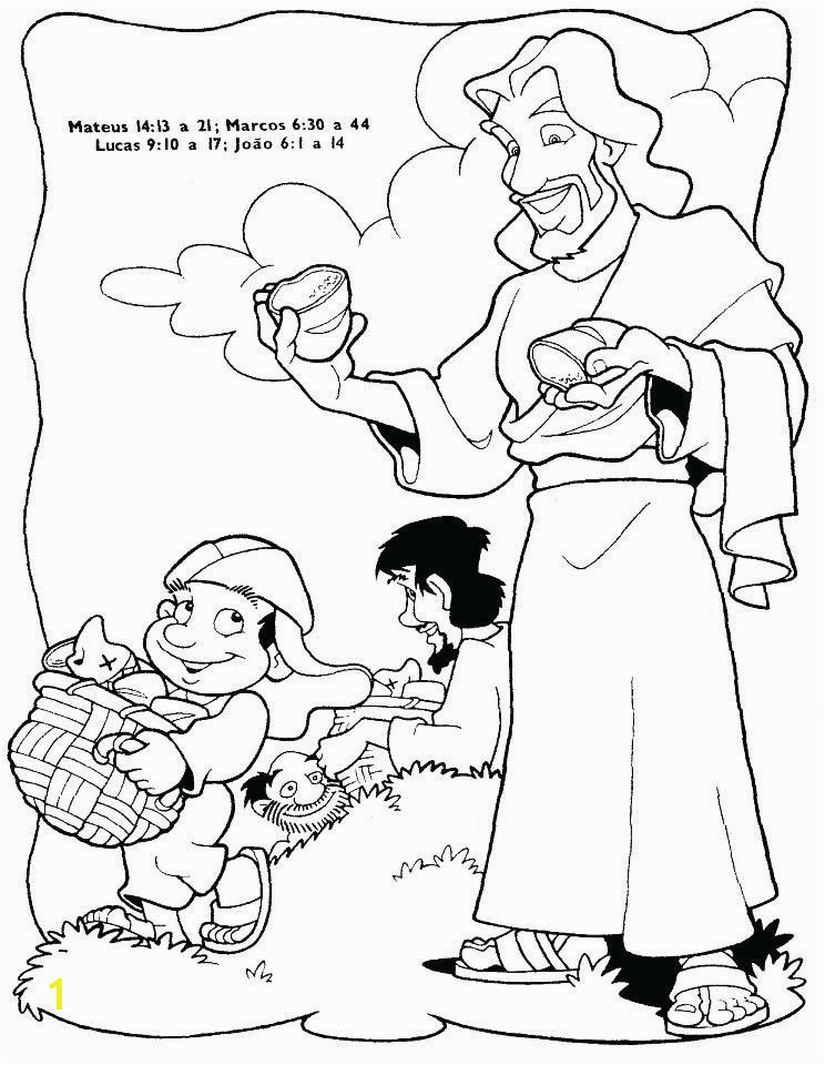 Jesus Feeds 5000 Coloring Page Fresh Jesus Feeds 5000 Coloring Page Aprenda Jesus Feeds 5000jesus Fed