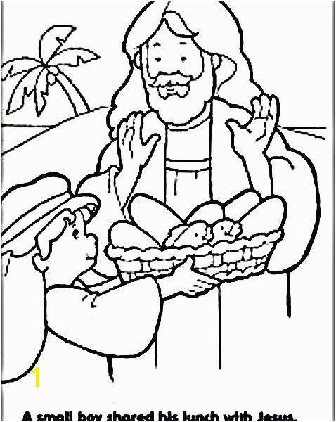 Jesus Feeds 5000 Coloring Page Elegant Jesus Feeds 5000 Coloring Pages as Amazing Feeds People Biblejesus