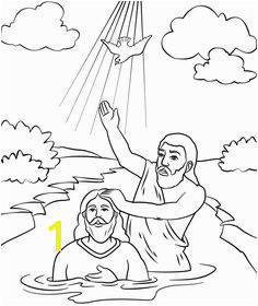 John The Baptist Coloring Pages Jesus Baptism Craft Bible Coloring Pages Coloring Sheets