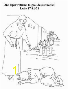 jesus heals the ten lepers color page for preschoolers Yahoo Image Search Results