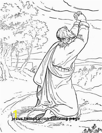 Easter Bible Coloring page Jesus appears to Mary Magdalene