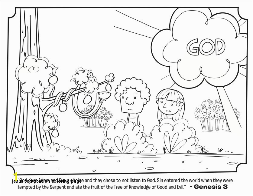 Jesus Temptation Coloring Page Serpent Bible Coloring Pages Kid S Church Pinterest