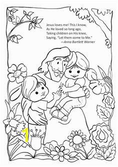 Jesus Loves Me Jesus Loves Children and Jesus Love Me Coloring