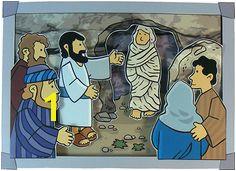Jesus Raises Lazarus From The Dead Picture Craft