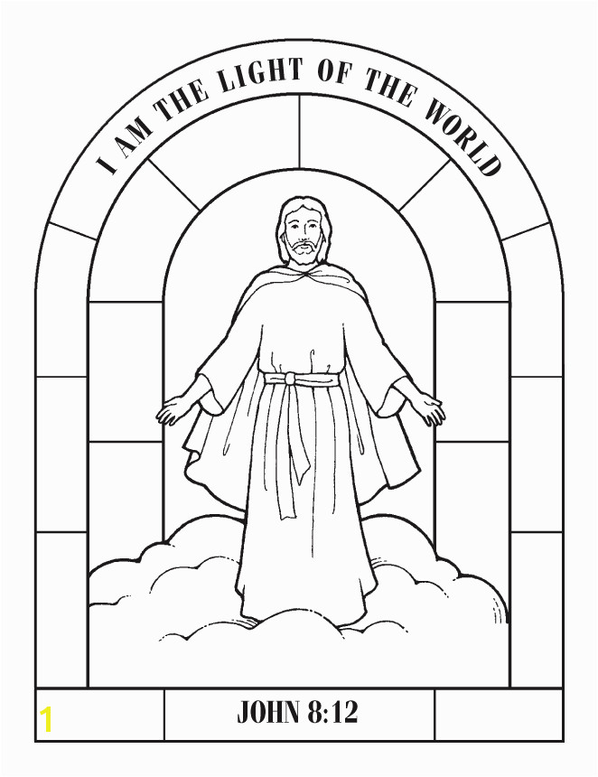 Jesus Rose From the Dead Coloring Page Coloring Pages