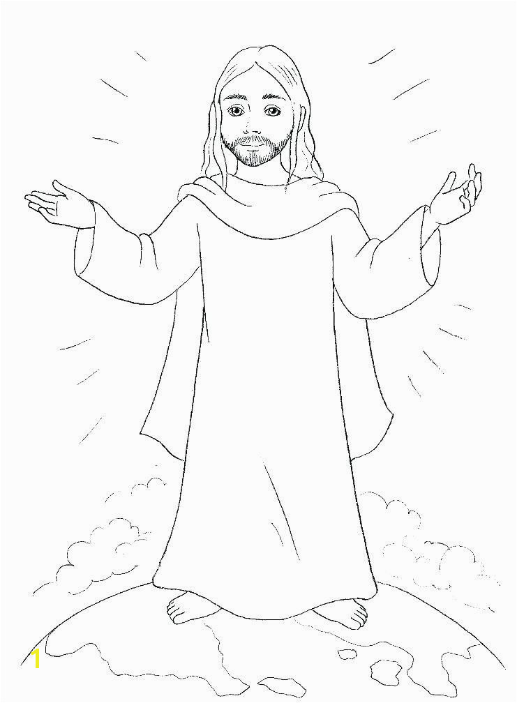 Jesus is Risen Coloring Page Unique Jesus Resurrection Coloring Page Luxury Cartoon Od Jesus Disciples