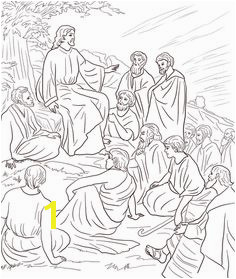Jesus Teaching People Coloring page Jesus Coloring Pages People Coloring Pages Preschool Coloring Pages