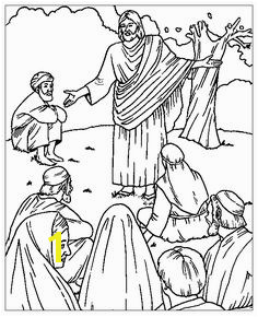 Sermon on the Mount Coloring Picture Bible Coloring Pages Coloring Pages For Kids Coloring