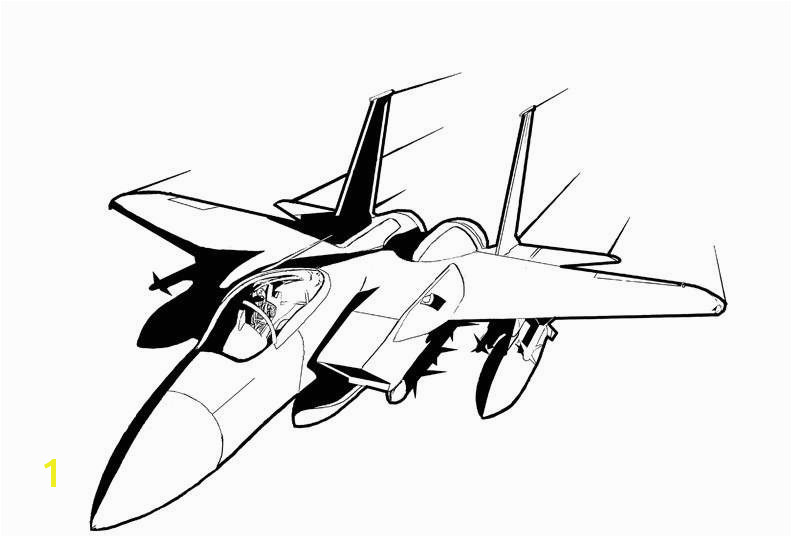 How To Draw A Jet New Line Art Jet Conversions Vf 0d jet coloring pages