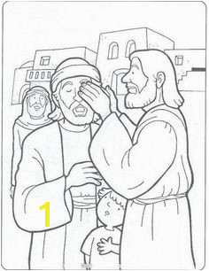 Jesus heals a blind man John 9 Bible Activities Preschool Bible Jesus