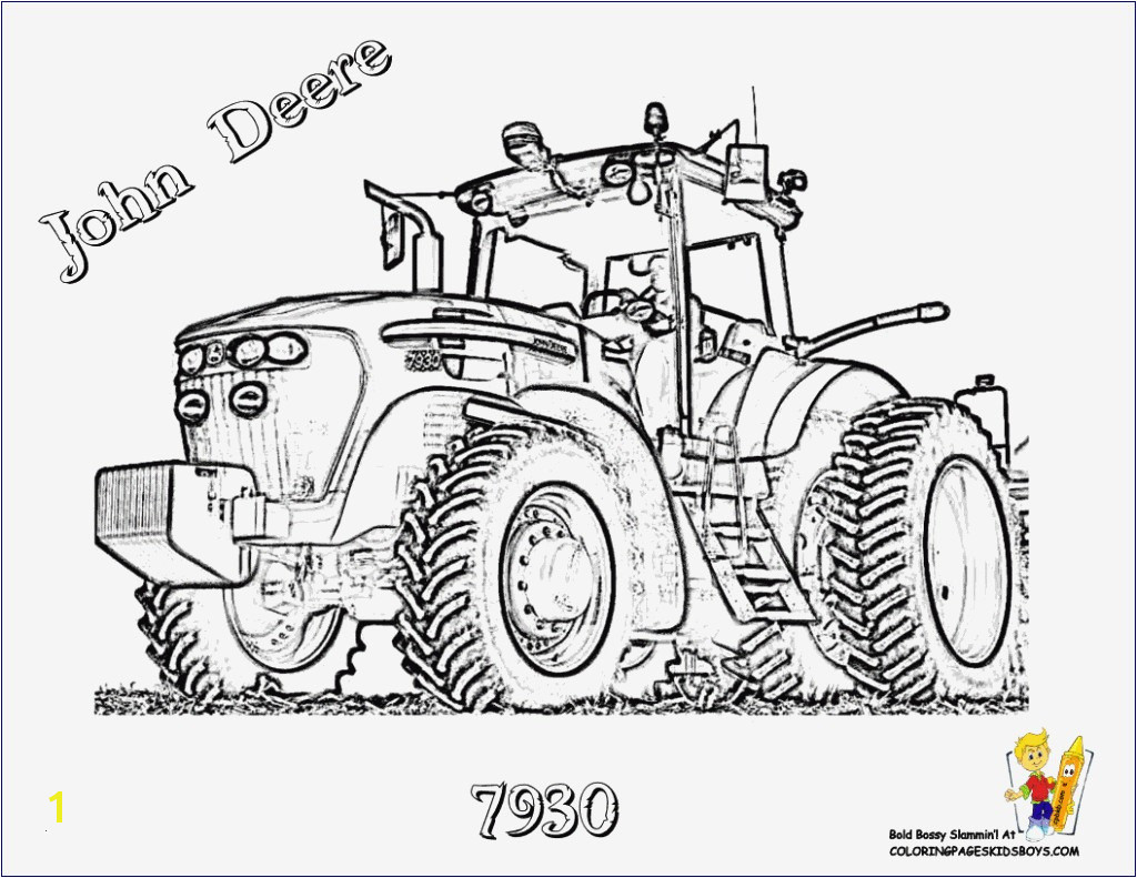 Tractor Coloring Pages John Deere Coloring Stylish John Deere Coloring Pages Elegant Frisches Ausmalbilder Traktor