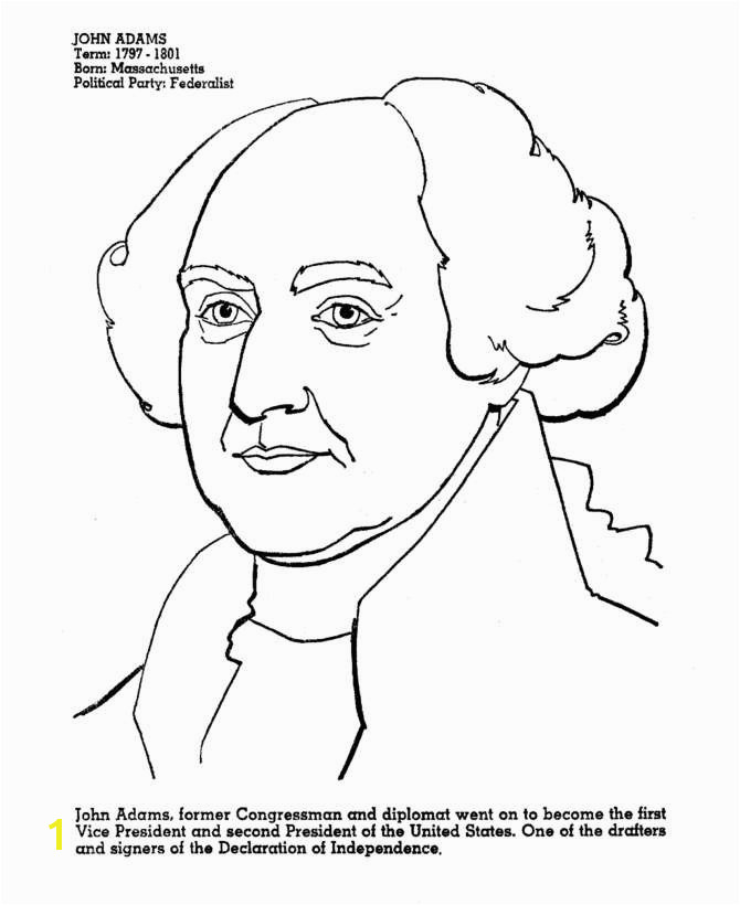 John Quincy Adams Coloring Page Best Best How to Draw John Adams Pexels