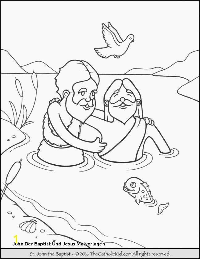 John Der Baptist Und Jesus Malvorlagen Crayola Drawing Best New Coloring Pages Inspirational Crayola
