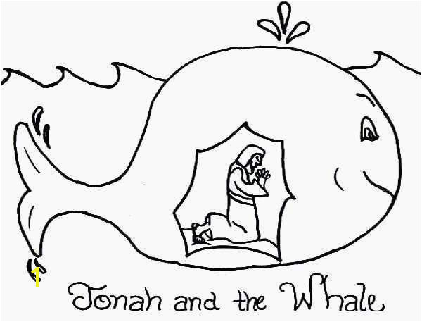 Jonah and the Whale Coloring Page Elegant Whales Coloring Sheets Elegant Story Jonah and the Whale