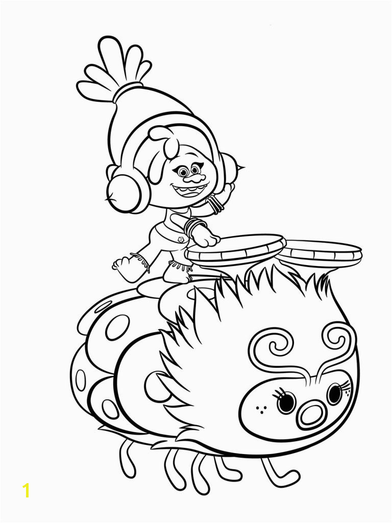 Magic Free Printable Troll Coloring Pages Trolls To Download And Print For