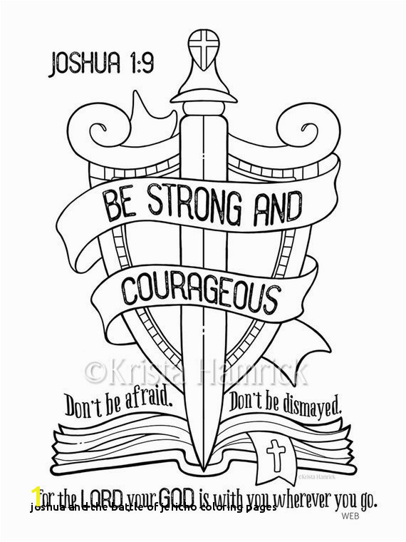 Joshua and the Battle Jericho Coloring Pages Joshua and the Promised Land Coloring Page Lovely
