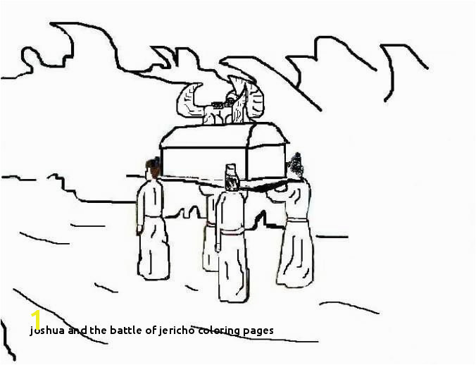 Joshua and the Battle Jericho Coloring Pages Joshua Chapter 3 7 17 Crossing the Jordan
