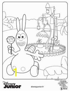 coloring page Jungle Junction Bungo