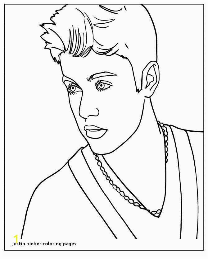 24 Justin Bieber Coloring Pages