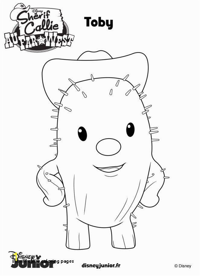 10 New Sheriff Callie Coloring Pages