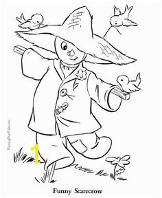 Autumn coloring page 018