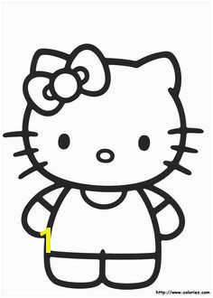 hello kitty 07 coloring pages printable and coloring book to print for free Find more coloring pages online for kids and adults of hello kitty 07 coloring