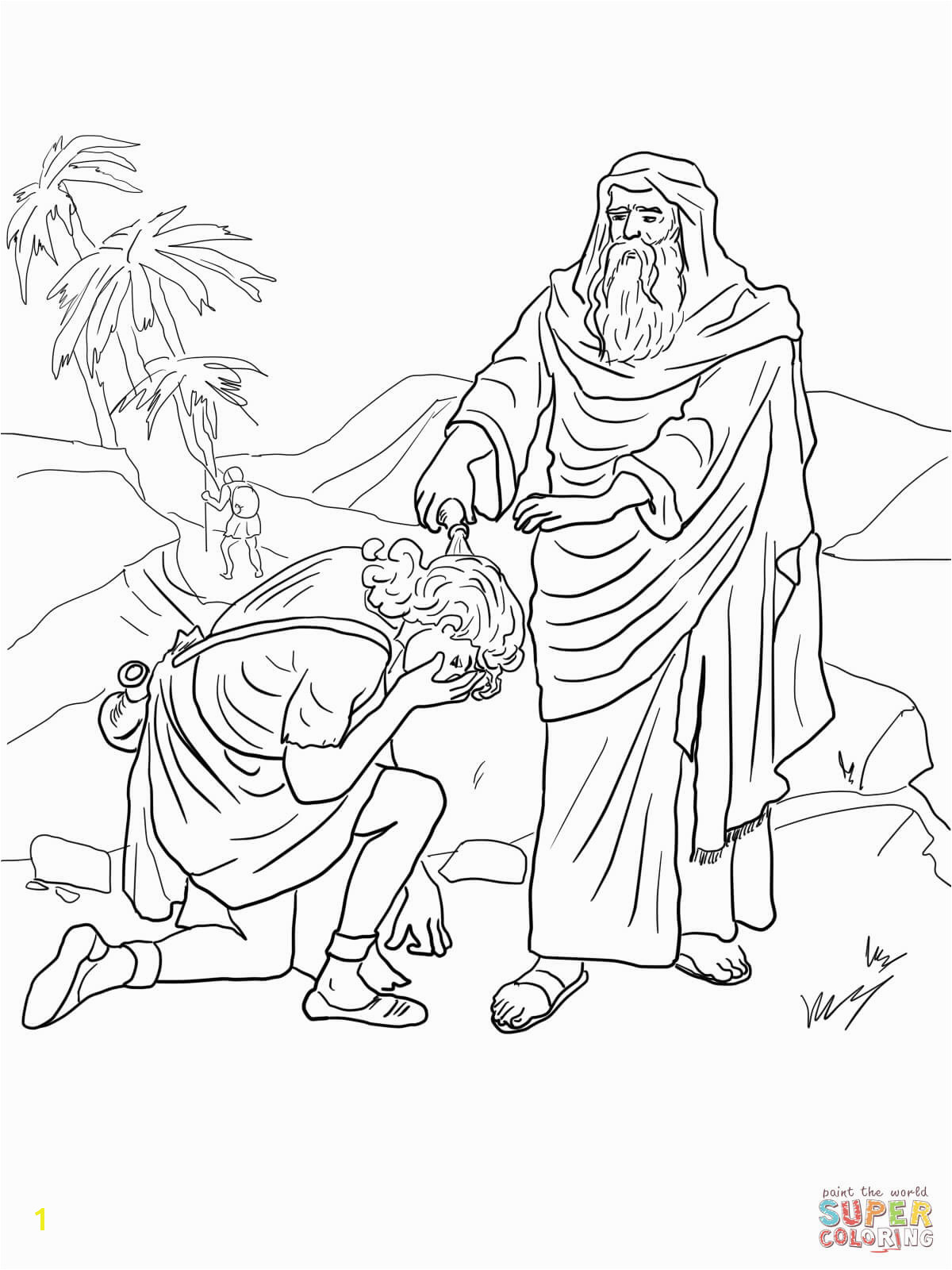Samuel Anoints David as King