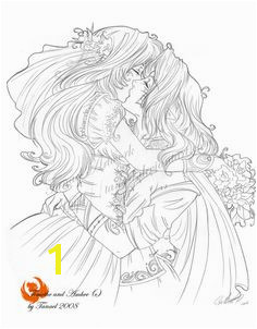 Wedding day by Tanael on deviantART Coloring Sheets Adult Coloring Pages Animal Coloring Pages