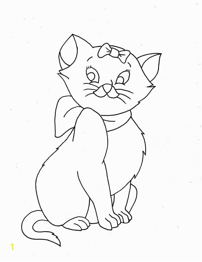 Cat Printable Coloring Pages Beautiful Kitty Cat Coloring Pages Printable New Cool Od Dog Free Colouring
