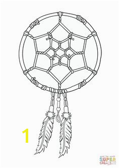 Dream catcher coloring pages to and print for free Dream Catcher Coloring Pages Coloring
