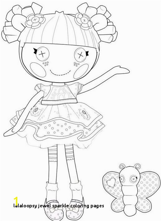 Lalaloopsy Jewel Sparkle Coloring Pages 34 Best Lalaloopsy Pinterest