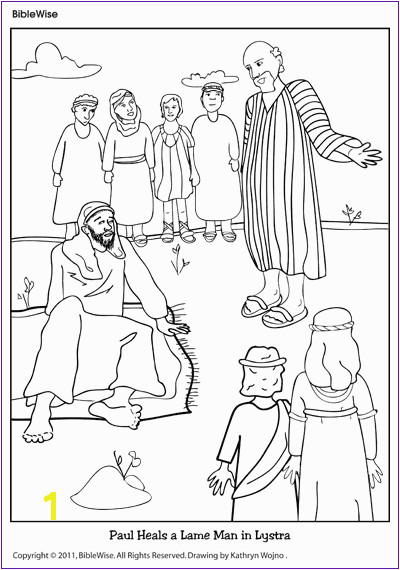 Peter Heals Coloring Page Pages Ideas