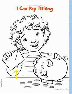 Lds Coloring Pages Tithing 18 Best Lds Primary Coloring Pages Images On Pinterest