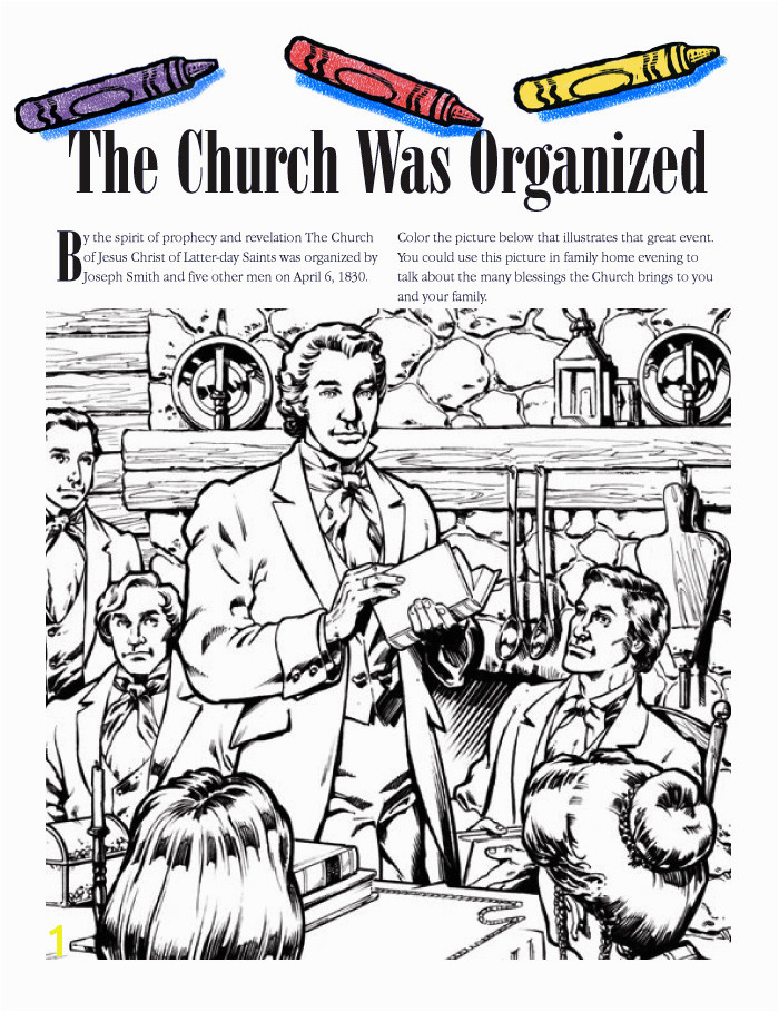 """The Church Was Organized"""