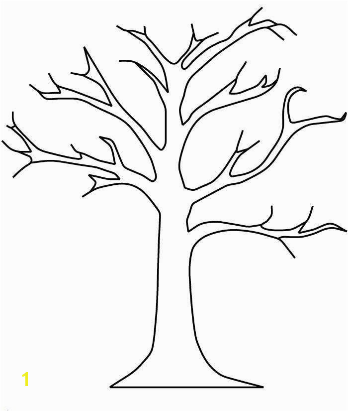 Bare Tree Coloring Page Best Tree without Leaves Coloring Page Beautiful Bare Tree without Leaves