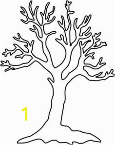 Leafless Tree Coloring Page 52 Best Trees Coloring Sheets Images
