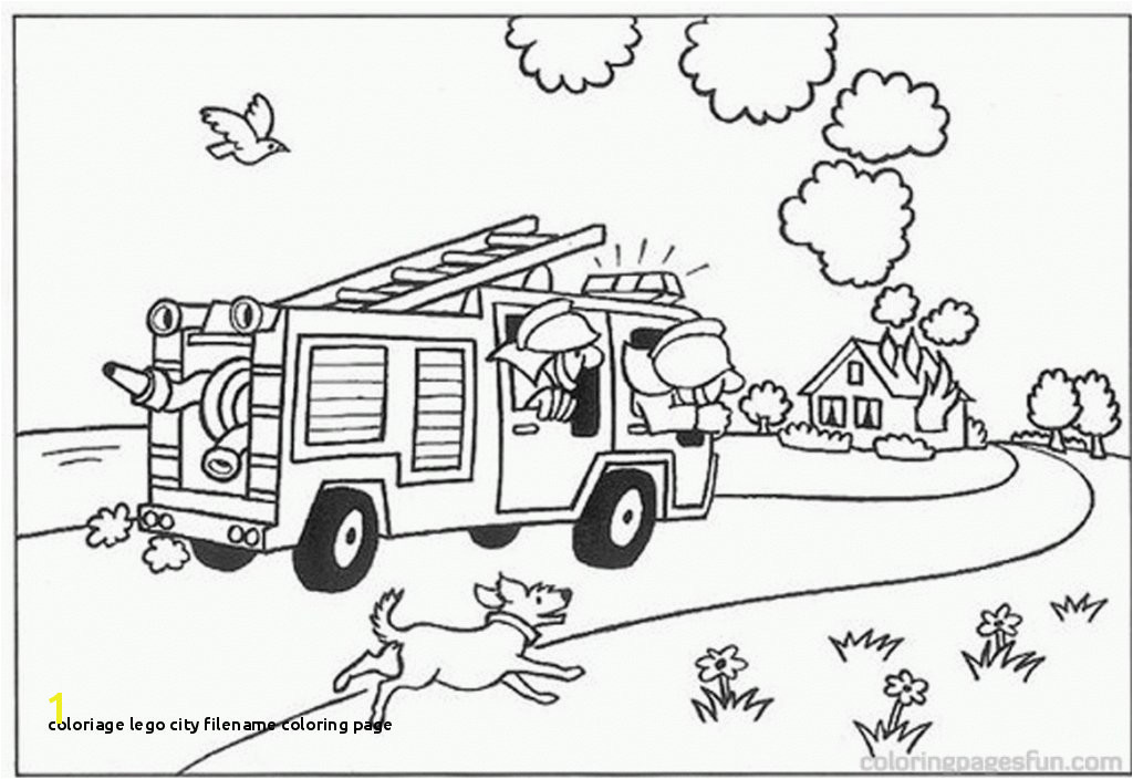 Coloriage Lego City Filename Coloring Page Coloriage Camion Pompier Filename Coloring Page Tldregistryfo