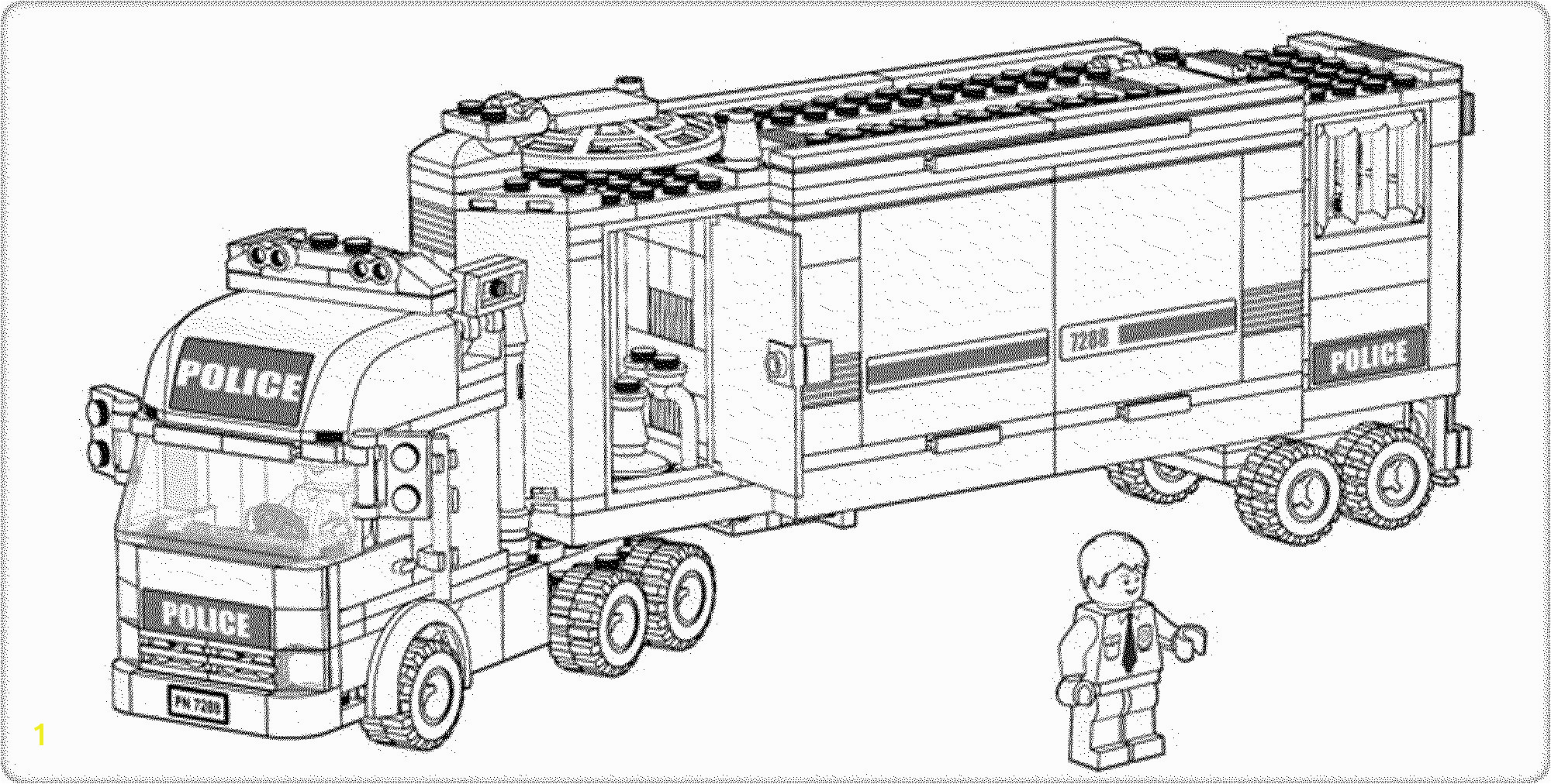 Lego City Printable Coloring Pages Neu Lego City Undercover Ausmalbilder