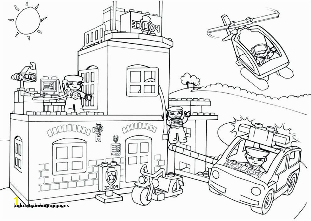 Police Coloring Pages 26 Lego City Coloring Pages