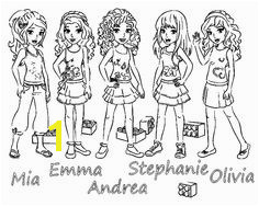 Lego Friends Coloring Pages to Print Free Lego Friends All Coloring Page for Kids Printable Free Lego