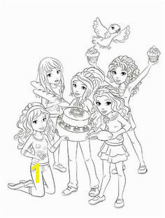 ever after high coloring pages kleurplaat Lego Friends Lego Friends