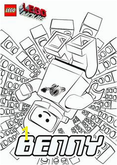 The LEGO Movie Coloring Pages Benny by tormentalous via Flickr Lego Movie Coloring Pages