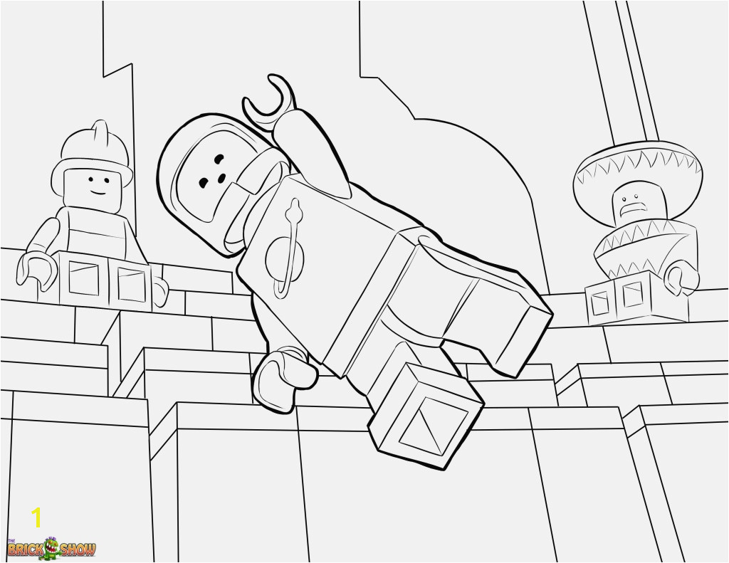 Ausmalbilder Lego Spannende Coloring Bilder Luxury Lego Movie Coloring Pages