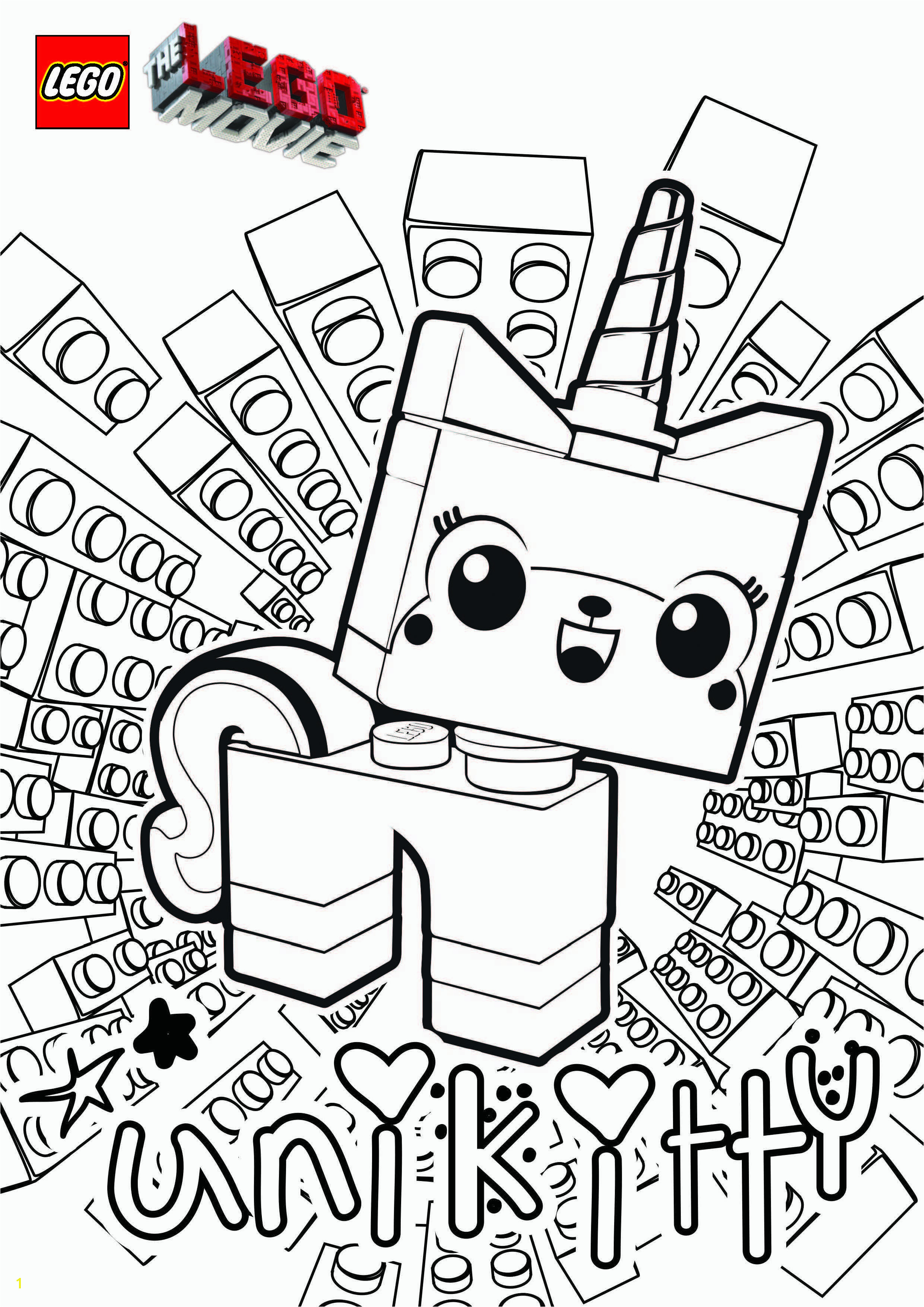 Lego Movie Coloring Pages 10
